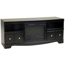 Shay LG TV Stand With Fireplace Insert
