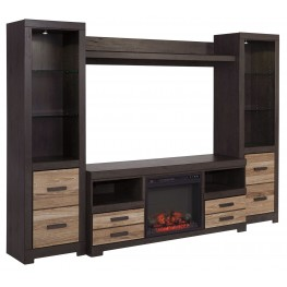 Harlinton Entertainment Wall Unit