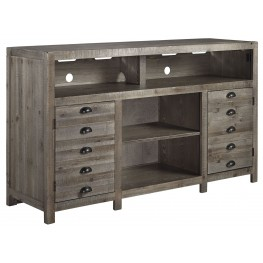 Keeblen Grayish Brown TV Stand