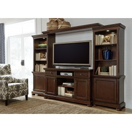 Porter Large Entertainment Wall Unit