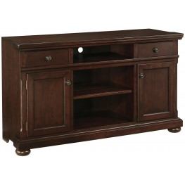Porter Burnished brown Large TV Stand