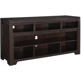 Rogness Dark Brown TV Stand