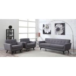 James Gray Linen Living Room Set