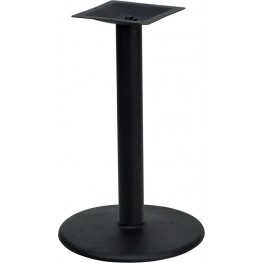 24'' Round Restaurant Table Base with 4'' Bar Height Column