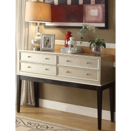 Anthology Beige and Black Irene Console Table