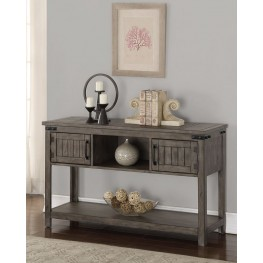 Storehouse Gray Sofa Table