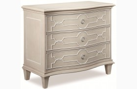 Chateaux Grey Bedside Chest