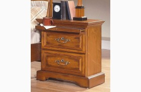 Honey Creek Caramel 2 Drawer Nightstand