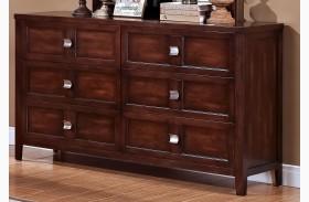 Ridgecrest Distressed Walnut Dresser