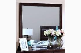 Garrett African Chestnut Mirror
