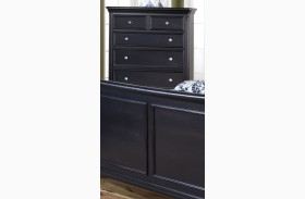 Maryhill Rubbed Black 6 Drawer Chest