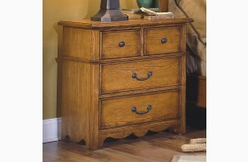 Hailey Toffee 4 Drawer Nightstand
