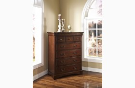 Madera African Chestnut Lift Top Chest