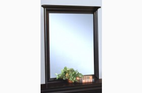 Belle Rose Black Cherry Youth Mirror