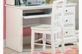 Bayfront White Student Desk