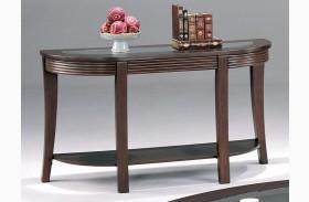Devon Cappuccino Finish Sofa Table - 5526