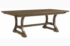 Coastal Living Resort Deck Shelter Bay Extendable Rectangular Dining Table
