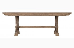 Coastal Living Resort Weathered Pier Shelter Bay Extendable Table