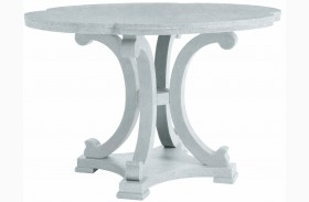 Coastal Living Resort Sea Salt Seascape Round Dining Table
