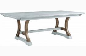 Coastal Living Resort Sea Salt Shelter Bay Extendable Rectangular Dining Table