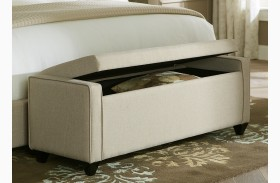 Upholstered Bed Bench