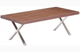 Renmen Walnut Coffee Table
