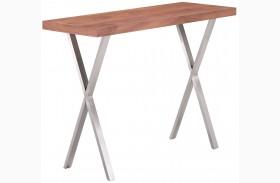 Renmen Walnut Console Table