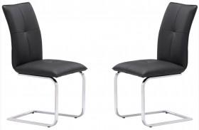 Anjou Black Dining Chair Set of 2