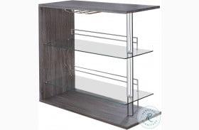 100156 Gray Bar Table