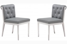 Aris Gray Dining Chair Set of 2