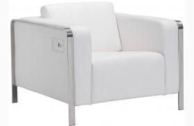 Thor White Arm Chair