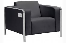 Thor Black Arm Chair