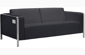Thor Black Sofa