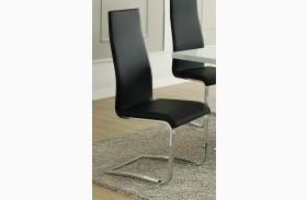 Mix & Match Black Dining Chair 100515BLK Set of 4
