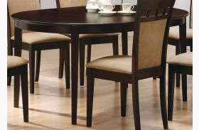 Mix & Match Cappuccino Oval Dining Table