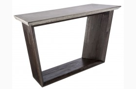 Langley Coffee Bean Console Table