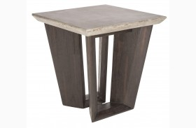 Langley Coffee Bean End Table