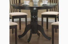 Brannan Cappuccino Round Dining Table