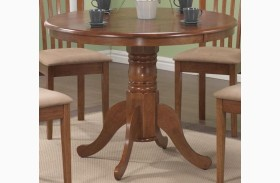 Brannan Oak Round Dining Table