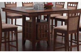 Mix & Match Walnut Counter Height Table