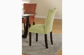 Bloomfield Green Parson Chair Set of 2