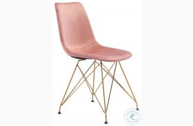 Parker Pink Dining Chair Set Of 4