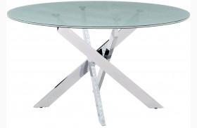 Stance Crackled Round Dining Table