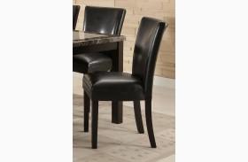 Carter Black Parson Side Chair Set of 2