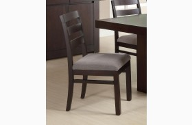Dabny Grey Side Chair Set of 2