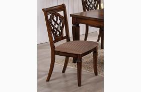 Oak Side Chair 103392 Set of 2