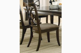 Meredith Espresso Side Chair Set of 2