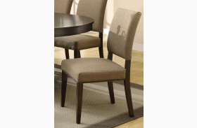 Myrtle Cappuccino Dining Chair Set of 2