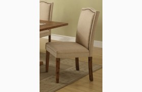 Parkins Ivory Parson Chair Set of 2