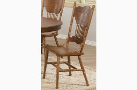 Brooks Oak Dining Chair Set of 2